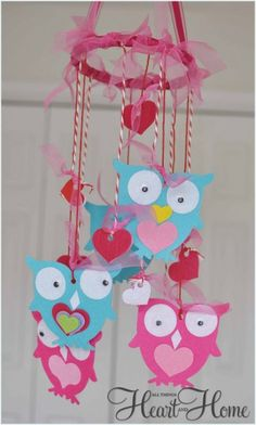 Valentine's Day Kid's Craft! - All Things Heart and Home