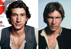 And he's got Leia's big dark eyes... very clever, Abrams... very clever.