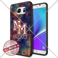 NEW New Mexico State Aggies Logo NCAA #1370 Samsung Note5 Black Case Smartphone Case Cover Collector TPU Rubber original by SHUMMA [Circle], http://www.amazon.com/dp/B01849BUZM/ref=cm_sw_r_pi_awdm_nQP9wb1ZGE5GN