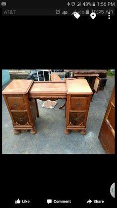 Before Beauty Vanity, Black Beauty, Corner Desk, Furniture, Home Decor, Dark Beauty, Corner Table, Ebony Beauty, Decoration Home
