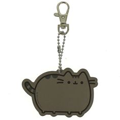 Pusheen Novelty Keyring ($6.65) ❤ liked on Polyvore featuring accessories