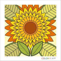 My take on sunflower.