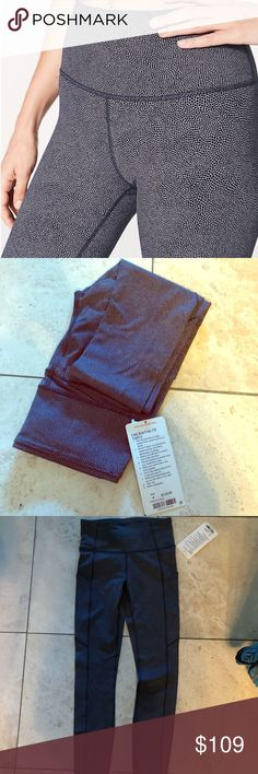 Lulu lemon Fast and Free Tight II (7/8 length) New with tags. Super comfortable. My favorite style from lululemon but bought the wrong size.   Very flattering size 4 lululemon athletica Pants Leggings