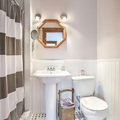 Rideau de douche déco - Salle de bain - Inspirations - Décoration et rénovation - Pratico Pratique
