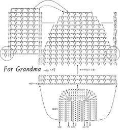 for Grandma by 나무 꼭 할머니가 아니여도, 엄마나 이모 주변의 친한 분들께 떠서 선물하시면 좋을거같아...