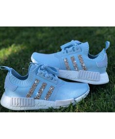 reputable site 5ce23 7015e Adidas NMD Blue Bling Trainers UK Adidas Nmd R1, Adidas Nmd Blue, Black Nike
