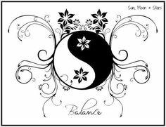 "Képtalálat a következőre: ""mandala yin yang"" Vine Tattoos, Bff Tattoos, Body Art Tattoos, Tatoos, Pisces Tattoos, Yin Yang Tattoos, Jing Y Jang, Fibromyalgia Tattoo, Yen Yang"