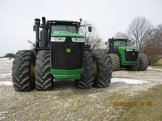 460hp John Deere 9460Rs