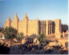 Gran mezquita de Tombuctu.