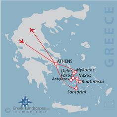 Greece Vacation Itinerary Proposals
