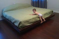 Diy floating bed frame $26