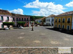 Conheça Cachoeira, cidade heróica e monumental na Bahia. Praça da Aclamação.