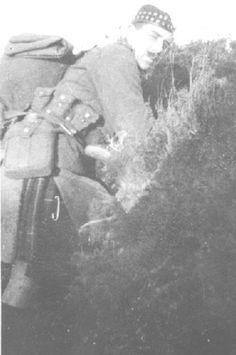 L/Cpl JCT Nisbet ,later killed in action before taking up commission as an officer, Liverpool Scottish in the Front Line, Spring 1915