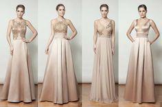 vestido de festa bege nude Glam Dresses, Fashion Dresses, Space Fashion, Party Mode, Dress Vestidos, Nude Dress, Indian Designer Wear, Party Fashion, Simple Dresses