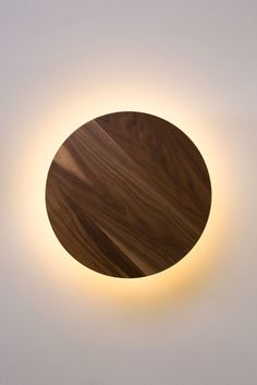 Radient Sconce Walnut