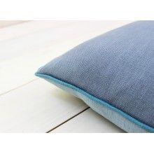 Blue Arielli Cushion  - Lily and Moor