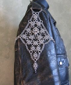 Chainmaille Japanese Lace Jacket Chain on