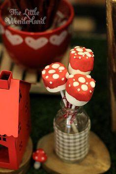 Little Red Riding Hood Birthday Party via Kara's Party Ideas | KarasPartyIdeas.com #littleredridinghoodparty (6)