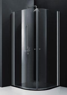 BAI 0908 Round Frameless Glass Shower Enclosure
