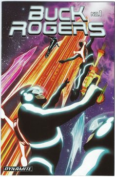 For Sale: Issue #1 of Buck Rogers, featuring an astounding cover by Alex Ross. Story by Scott Beatty, illustrations by Carlos Rafael. Published by Dynamite Entertainment in 2009. First Printing. Comic book in Near Mint condition. Buy in confide...
