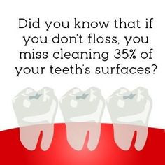 Dentaltown - After you brush do you finish cleaning your teeth with floss? Did…