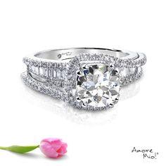 Anillo de oro Blanco 18Kt Modelo: WG1830199 Diamante Round 1.37 quilates. Color-G Claridad SI2 Laboratorio- EGL, SKU Diamante: 1138288671 Precio: $103,265.69 pesos M.N *Consulte términos y condiciones.