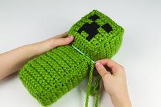 Crochet Minecraft Creeper - Craftfoxes