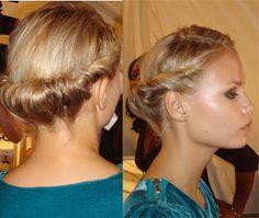 Peinados de fiesta para pelo corto | No Solo Moda