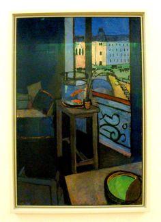 Henri Matisse, Matisse, Les poissons rouges, Interior with a Goldfish Bowl, Centre Pompidou, Pompidou, Georges Pompidou, Museum, Painting, Art, Paris, France