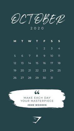 The Official Gymshark Calendar - October Plan your time and stay motivated! The Official Gymshark Calendar - October Plan your time and stay motivated! Iphone Wallpaper Herbst, Fall Wallpaper, Iphone Background Wallpaper, Walpaper Iphone, Iphone Wallpapers, 2020 Calendar Template, Calendar 2020, September Wallpaper, Calendar Quotes