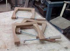 Fabricação de grampo C