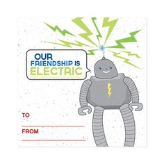 Robot Friends Plantable Valentine Cards set of 10 Robot Classroom, Our Friendship, Goodie Bags, Valentine Day Cards, Recycling, School, Paper, Holiday, Art