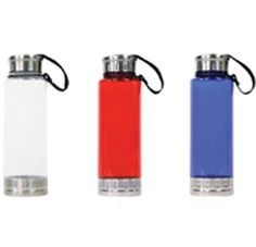 The Aztec Sports Drink Bottle featuring polycarbonate material, stainless steel base, screw top and large space for your printed promotional branding, message or logo customised onto the promotional product and to suit your individual promotional marketing.