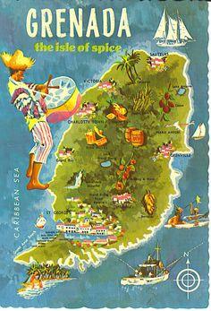 Aerial Viewmap Of Sandals La Source Grenada Travel Caribbean - Grenada atlas map