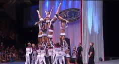 Cheerleading Worlds 2011 | Texas Lone Star Cheer | International Open Coed Level 6 3rd. place. www.cheercoach.net