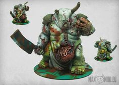 """<p>This set contains one big multipart model (around 123 mm high). Cast in high quality resin. Designed to work as huge deamon for 28mm """"heroic"""" miniatures. Supplied unpainted.<br /> </p>"""