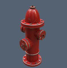 3D Model Fire Hydrant | Free 3D Models - General | keith1961 - 3D Squirrel
