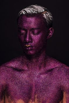 Male models on Behance | Photo. Lan Tran | Model. Manh Hiep | Makeup. Ruan Dang