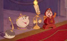 I got Gli oggetti incantati del castello della Bestia! - A quale team Disney appartieni? | Disney Inspired