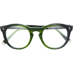 Retrosuperfuture round frame glasses (328 CAD) ❤ liked on Polyvore featuring accessories, eyewear, eyeglasses, green, retrosuperfuture, retrosuperfuture glasses, unisex glasses, retrosuperfuture eyeglasses and green glasses