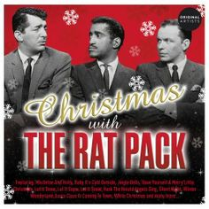 The Rat Pack Christmas CD. Fabulous sings from way back when. Lovely, mellow background music for listening to while cooking Christmas dinner. Sammy Davis Jr, Dean Martin, My One And Only, Retro Christmas, Rats, Growing Up, Ethnic, Singing, Favorite Things