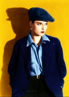 Louise Brooks in Beggars of Life, 1928 colored