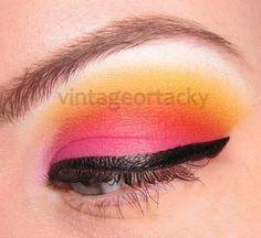 Sunburst Eye Makeup