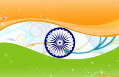 The 'Ashoka Chakra' (blue wheel) on the Indian flag represents all the states in the country.