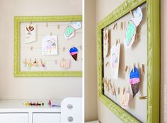Hang all your kid's masterpieces