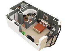 440x330 3d Studio Apartment Floor Plan 1183118.jpeg (