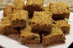 Paleo Apple Carrot Kugel - Edible Harmony.. OMIT dates for a more GP friendlier treat!! ENJOY