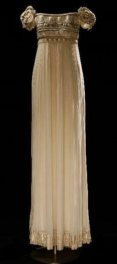 Christian Dior   Palladium Dress 1992