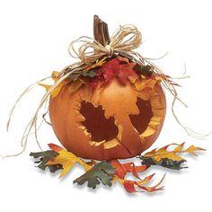 Pumpkin Centerpiece- Fall Craft