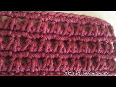 Tutorial punto triangolo - Crochet - YouTube